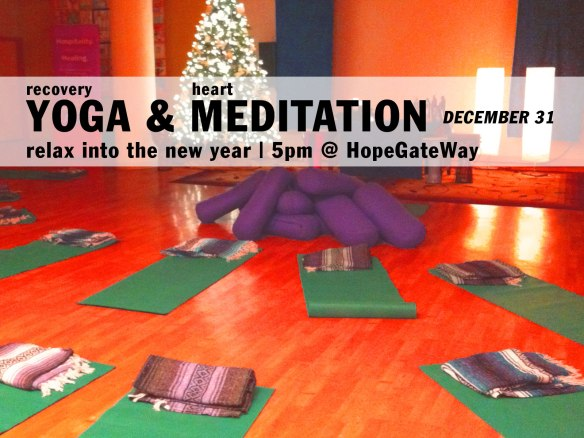 New Year's Eve Yoga